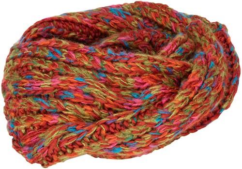 MB7303 Fancy Yarn Scarf - Rood-melange - One size