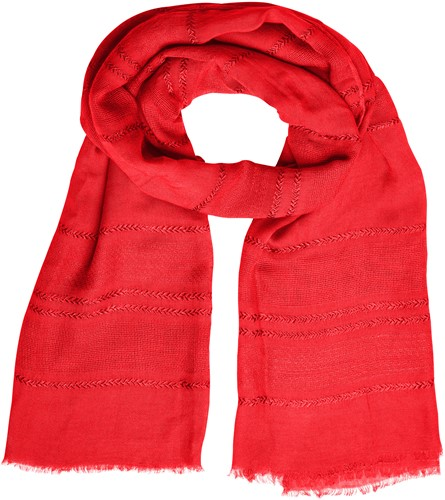 MB7310 Structured Summer Scarf - Vlam - One size