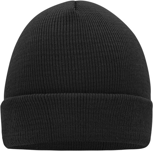MB7500 Knitted Cap - Zwart - One size
