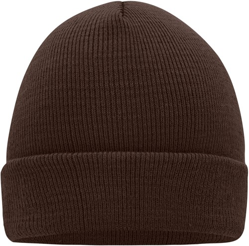 MB7500 Knitted Cap - Chocolade - One size