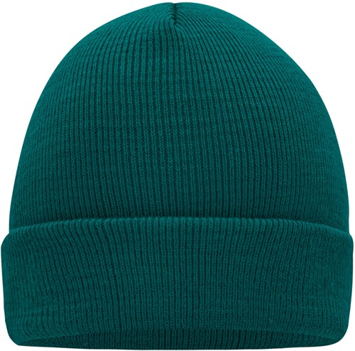 MB7500 Knitted Cap - Donkergroen - One size