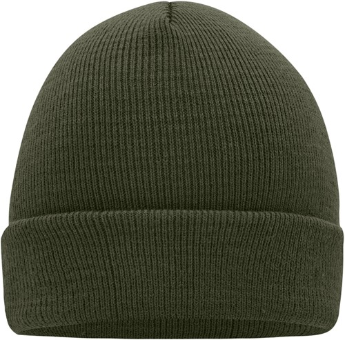 MB7500 Knitted Cap - Olijf - One size