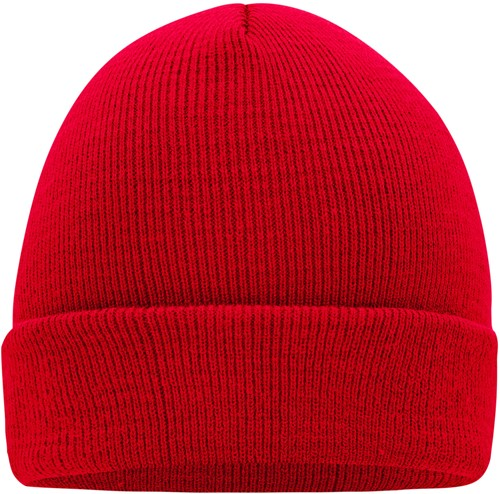 MB7500 Knitted Cap - Rood - One size