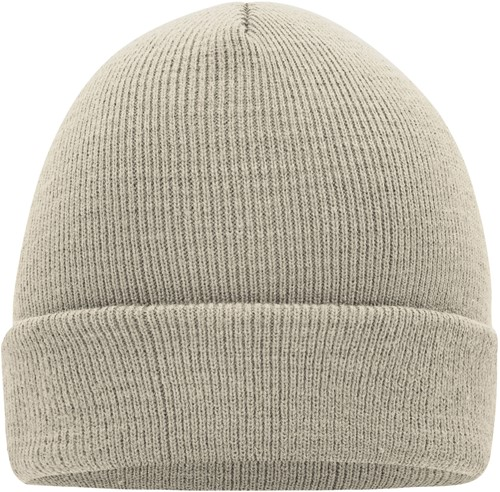 MB7500 Knitted Cap - Zand - One size