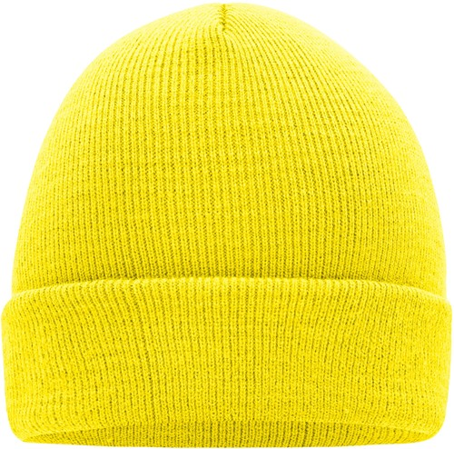 MB7500 Knitted Cap - Geel - One size