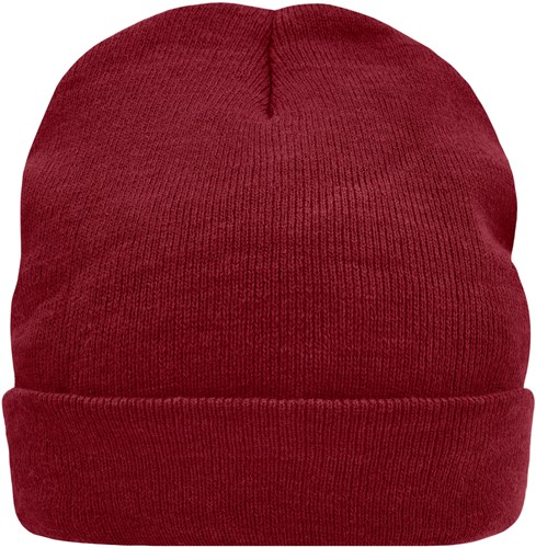 MB7551 Knitted Cap Thinsulate™ - Dieprood - One size
