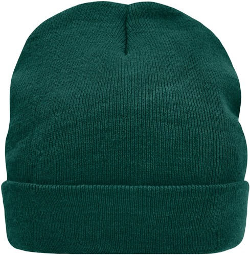 MB7551 Knitted Cap Thinsulate™ - Donkergroen - One size