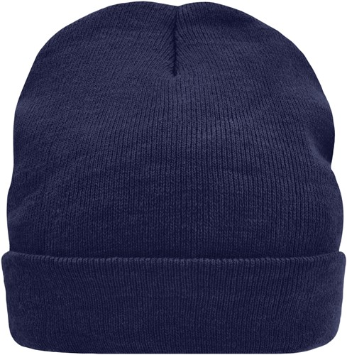 MB7551 Knitted Cap Thinsulate™ - Navy - One size