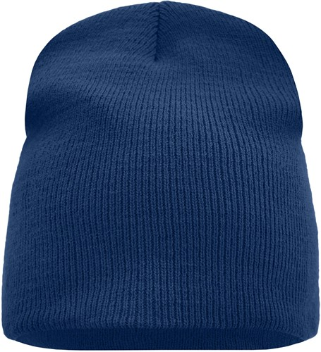 MB7580 Beanie No.1 - Navy - One size