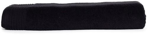 T1-100 Classic beach towel - Black - 100 x 180 cm