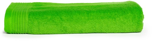 T1-100 Classic beach towel - Lime green - 100 x 180 cm