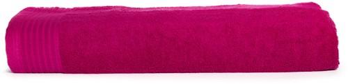 T1-100 Classic beach towel - Magenta - 100 x 180 cm