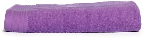 T1-100 Classic beach towel - Purple - 100 x 180 cm