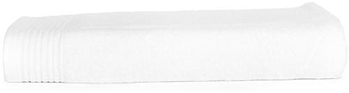 T1-100 Classic beach towel - White - 100 x 180 cm