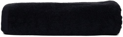 T1-210 Super size towel - Black - 100 x 210 cm