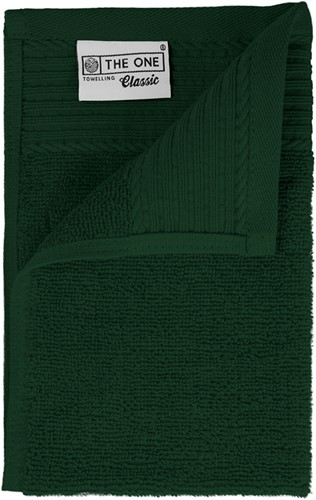 T1-30 Classic guest towel - Dark green - 30 x 50 cm