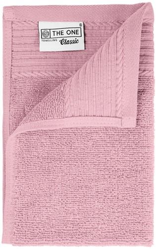 T1-30 Classic guest towel - Light pink - 30 x 50 cm