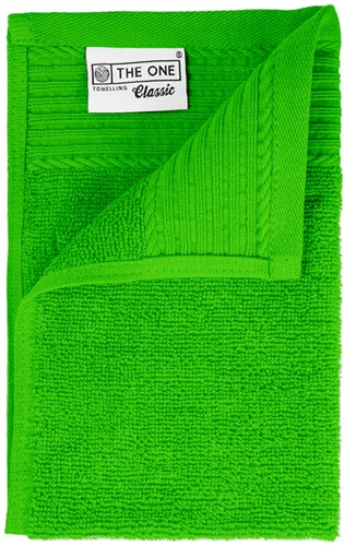 T1-30 Classic guest towel - Lime green - 30 x 50 cm