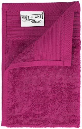 T1-30 Classic guest towel - Magenta - 30 x 50 cm