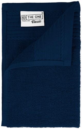 T1-30 Classic guest towel - Navy blue - 30 x 50 cm