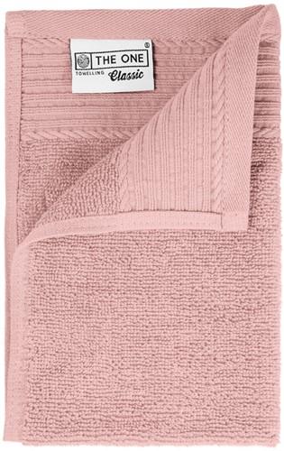 T1-30 Classic guest towel - Salmon - 30 x 50 cm