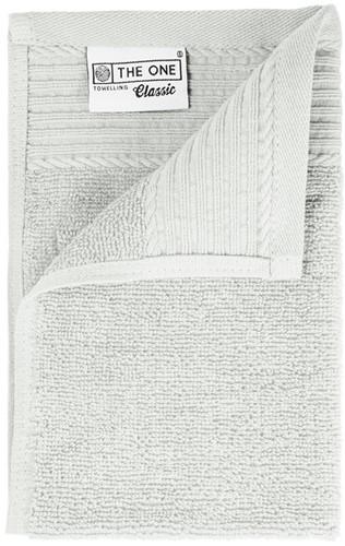T1-30 Classic guest towel - Silver grey - 30 x 50 cm