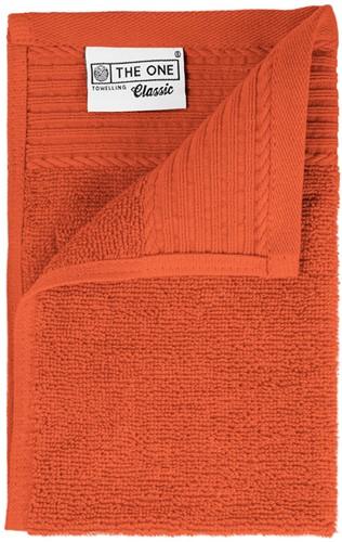 T1-30 Classic guest towel - Terra spice - 30 x 50 cm
