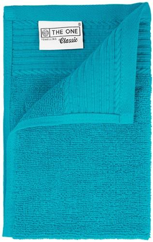 T1-30 Classic guest towel - Turquoise - 30 x 50 cm