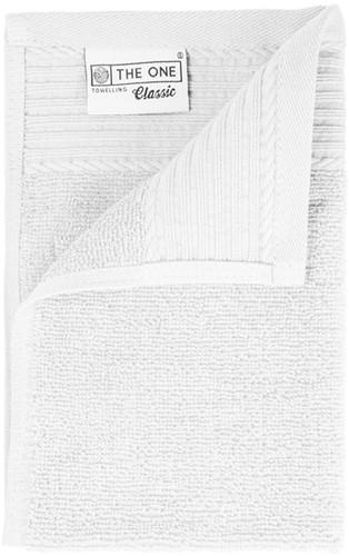 T1-30 Classic guest towel - White - 30 x 50 cm
