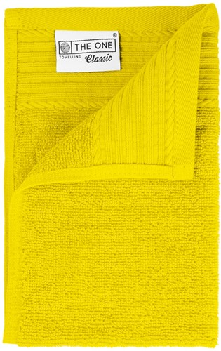 T1-30 Classic guest towel - Yellow - 30 x 50 cm
