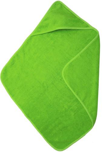 T1-BABYT Baby cape - Lime green - 75 x 75 cm