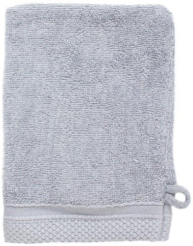 T1-BAMWASH Bamboo washcloth - Light grey - 16 x 21 cm