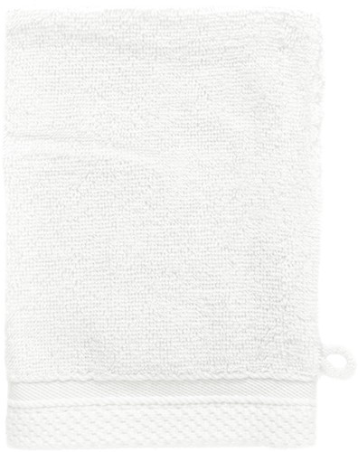 T1-BAMWASH Bamboo washcloth - White - 16 x 21 cm
