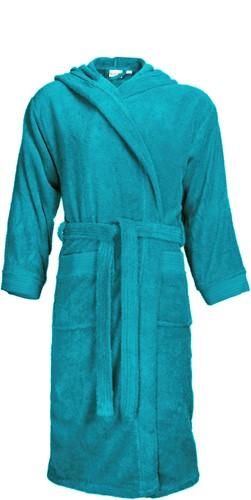 T1-BH Bathrobe hooded - Turquoise - 2XL/3XL