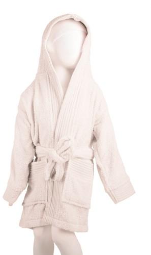 T1-BKIDS Kids bathrobe - White - 152/164