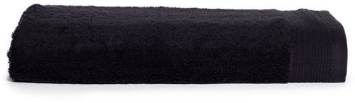 T1-DELUXE100 Deluxe beach towel - Black - 100 x 180 cm