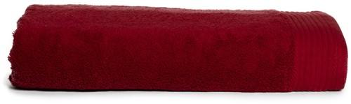 T1-DELUXE100 Deluxe beach towel - Burgundy - 100 x 180 cm