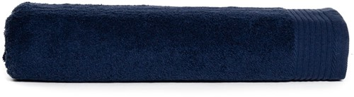 T1-DELUXE100 Deluxe beach towel - Navy blue - 100 x 180 cm