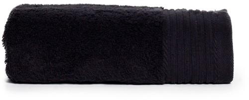 T1-DELUXE50 Deluxe towel - Black - 50 x 100 cm