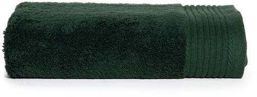 T1-DELUXE60 Deluxe towel - Dark green - 60 x 110 cm
