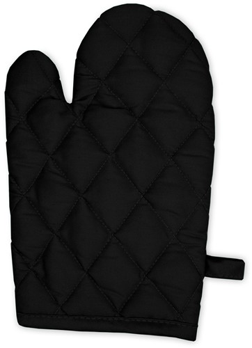 T1-GLOVE Kitchen gloves - Black - 20 x 29 cm