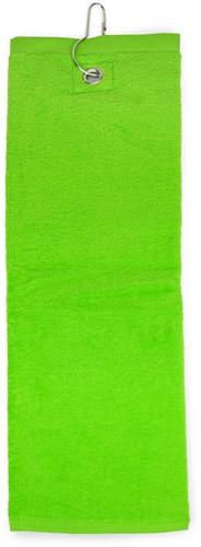 T1-GOLF Golf towel - Lime green - 40 x 50 cm