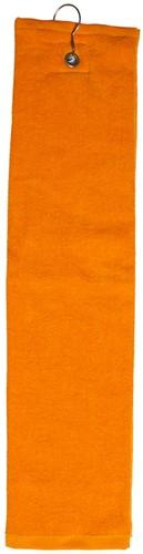 T1-GOLF Golf towel - Orange - 40 x 50 cm