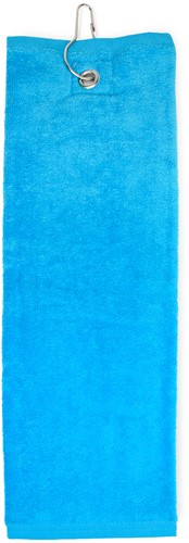 T1-GOLF Golf towel - Turquoise - 40 x 50 cm