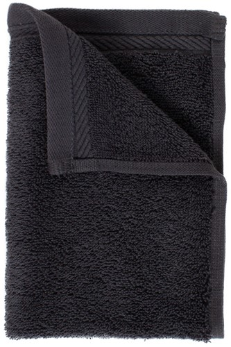 T1-ORG30 Organic guest towel - Anthracite - 30 x 50 cm