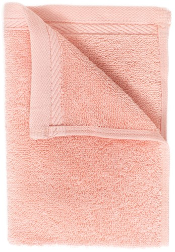 T1-ORG30 Organic guest towel - Salmon - 30 x 50 cm