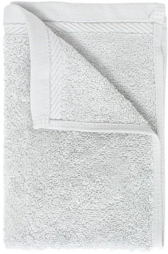 T1-ORG30 Organic guest towel - Silver grey - 30 x 50 cm