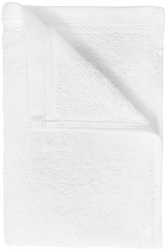 T1-ORG30 Organic guest towel - White  - 30 x 50 cm