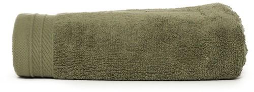 T1-ORG50 Organic towel - Olive green - 50 x 100 cm
