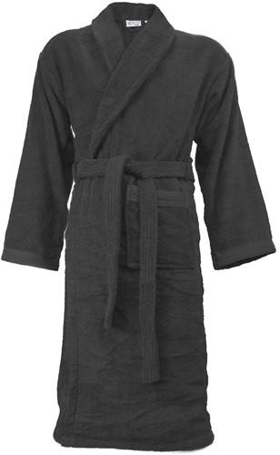 T1-ORGB Organic bathrobe - Anthracite - S/M